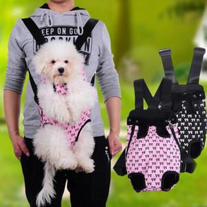 موضة جديدة القط الكلب كلب جرو كاري الجبهة الناقل الهواء الطلق على ظهره حقيبة مع Bowknot لطيف نمط الدعم الحيوانات الأليفة للبيع