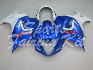 2008 2013 Katana Beyaz Mavi Fairing Setleri GSX 650 2012 Fairing Setleri GSX650F - GSX650 2008 grenaj