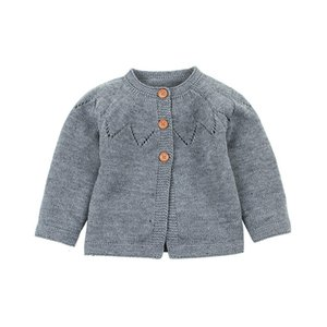 Autumn Cotton Top Baby Children Clothing Boys Girls Knitted Cardigan Sweater Kid Spring Clothes