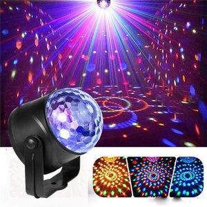 Luci portatili LED laser LED RGB Seven Mode Lighting Mini DJ Laser con telecomando per la lampada del proiettore del club della festa di Natale