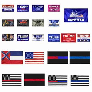 Trump Flag 90 * 150cm Trump 2020 Keep America Grande Flag USA Mississippi State Flags America Elezioni presidenziali Trump Bandiere CYZ2486 60Pcs