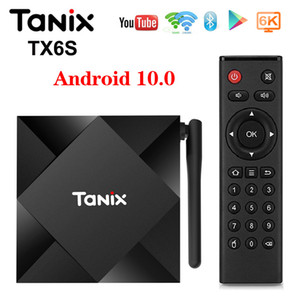 Tanix TX6S TV BOX Android 10 4GB 64GB Allwinner H616 QuadCore TVBox H.265 6K Google Player Netflix Media Player TX6 Android 10.0