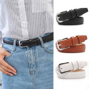 New fashion Women Belts Pu leather Square Pin Buckle Waist Strap Jeans Trouser Dress Youth Student Female Wild Waistband
