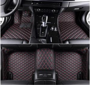 Convient pour Dodge Challenger 2000-2021 tous les modèles personnalisés de luxe Les tapis de sol imperméable à l'eau