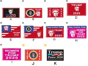 Terylene Trump Flag Campaign Flags Digital Prints Banner Colorfast Durable Quality Goods Sun Proof Bright Colors Hot Sale 15cg D2