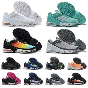 Zapatos para correr nike air airmax max plus tn 3 tenis Tuned Mercuial airmax Ultra III New OG Zapatillas deportivas para hombre Zapatillas de deporte negras blancas para mujer