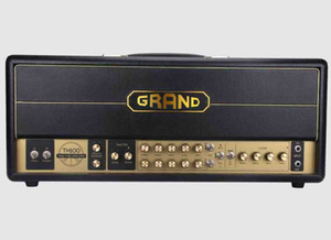 Custom Grand Tube Guitar Amplifier Head Jxs120 Style 100W in Black EL34 6L6 Select Switch