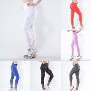 2019 douração cintura alta hip trecho multi-color esportes leggings roupas calças calças apertadas roupas de ioga yoga Yiwu