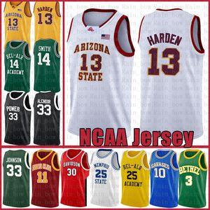 James Harden 13 Università Stephen Curry 30 Kyrie Dwyane Wade 3 Irving LeBron James 23 pallacanestro Jersey Toni Kukoc 7 NCAA Chris Webber 4