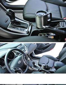 450ml de coches Calefacción Copa con cable Auto 12v calefacción eléctrico Cup Hervidor Coches térmica del calentador de la botella tazas de agua hirviendo