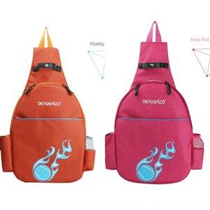 Creative sac de tennis à double nylon 2-pack laine multi-fonctionnelle extérieure épaule balle badminton badminton sac à dos OEM épaule unique
