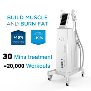 빠른 선박 근육 자극기 EMSculpt 슬리밍 기계 EMSculpt HIEMT 근육 토닝 장치 자극 체중 감소 아름다움 피트니스 장비