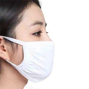 Housework için fabrika OutletBlack Koruyucu Pamuk Maske Anti Toz Kirliliği Unisex Yüz Ağız Maskeleri Yıkanabilir Yeniden kullanılabilir Bisiklet Camping Duman