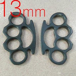 Anillo grueso de 13 mm de espesor de acero pesado de nudillo de cobre PLUMERO herramienta de defensa personal de nudillo de cobre embrague 1pc