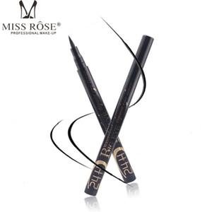 MISS ROSE Black Liquid Eyeliner Pen Eye Pencil Makeup Make Up Eye Liner Long-Lasting Waterproof Maquillage Cosmetic Tools.w