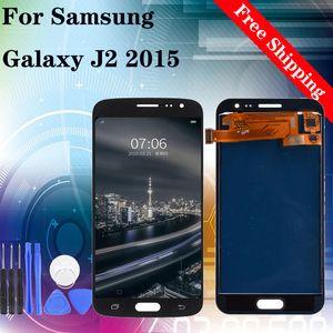 Super Amoled 4.5inch LCD Display + Touch Screen für Samsung Galaxy J2 2015 J200 J200F J200Y LCD mit Analog-Digital-Montagewerkzeuge SM-J200F