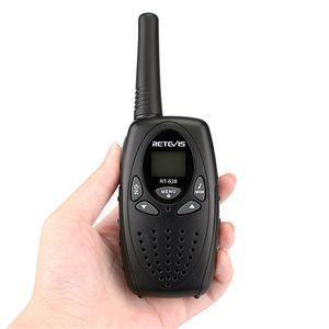2pcs Retevis RT628 Walkie Talkie Mini Crianças rádio PMR FRS 0.5W PMR446 8 / 22CH VOX PTT LCD Crianças 2 Way Radio Transceiver