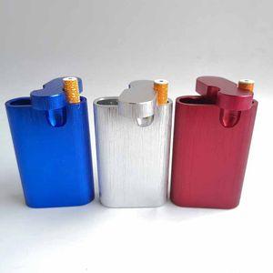 CNC All In One алюминиевого контейнер Dugout горького Digger Rod Poker курительные Стаканчики хранение 5 цветов Отправить Случайные для курительной трубки Инструментов