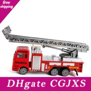 Alaşım Mühendislik Oyuncak Madencilik Araba Kamyon Çocuk 'S Doğum Hediye Yangın Kurtarma Childrentoy Vasıta Fire Truck için Present Oyuncak