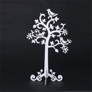 Jewelry Holder Tree Bird Necklace Stand Earring Ring Braclet Rack Holder Organizer Show Gift Home Display Jewelry Decoration Svsus