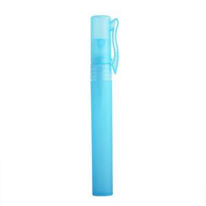 10ML Mini portátil Pen Frasco de perfume frasco de spray pequena amostra Frascos Containers Fragrances atomizador recarregáveis DHD1127