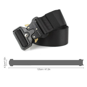 Belt High Quality Combat Tactical Training Belts Multifunctional Buckle Outdoor Sports Hook For Jeans Pants