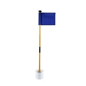 Съемные Учебные пособия Golf Flag Портативный Положив Green Gift Hole Cup Practice