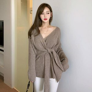 winter new fashion women thick outdoor simple cute knitted sweater new arrival comfortable basic loose warm sexy sweater