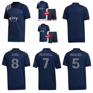 MLS 2020 Спортинг Канзас-Сити футбол Джерси Pulido RUSSELL футбол рубашка Уртадо SHELTON Kansas City Kids комплект Enfants более 25шт Свободный DHL