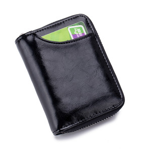12 Female Credit Wallet Holder Women RFID Case Carte Document Porte Driver Purse Cardholder Women Xapmj Wallet Card Bag License Card Npino