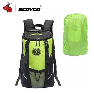 Casco Zaino SCOYCO Moto multifunzione Motorcycle Bag borsa da viaggio escursionismo escursioni in bicicletta Zaini