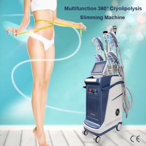Kavitasyon 5 kriyo kolları cryopolysis makinesi dondurma fonksiyonlu vakum kavitasyon rf cyrotherapy yağ zayıflama dondurma lipo yağ serin