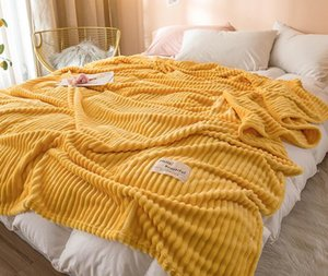 Coral Blanket Milk Wool Blanket Quilt Summer Thin Summer Nap Blanket Lunch Break Air Conditioning Bed Modern Polyester