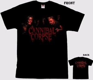 Cannibal Corpse -americano Death Metal Banda T_Shirt- Tamanhos S 6XL