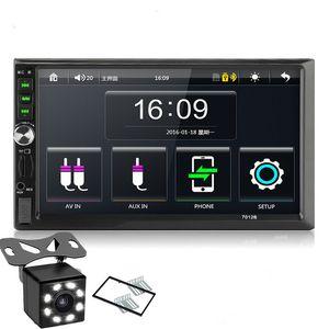 """2DIN autoradio 7"""" registratore di collegamento specchio HD touch Autoaudio Multimedia Player MP5 Autoradio Bluetooth di retrovisione di registrazione su nastro"""