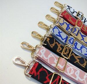 Sac nylon de couleur de ceinture Bracelet Hanger sac à main pour les femmes décoratif Obag ornement poignée
