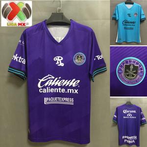 20 21 Liga MX Mazatlán FC Soccer Jersey 2021 Home Purple Mazatlan Camicie Away Blue Maillot de Foot Football Uniformi