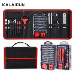 Juego de destornillador Kalaidun 135 en 1 TORRIBLE DE TORNILLO DE PRECISION TORX BIT BIT MAGNÉTICO DIY TELÉFONO MÓVIL PUBLIMA Laptop Reparación de herramientas de mano Kit