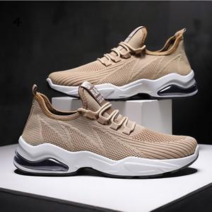 con i calzini liberi modo CALDO uomini neri scarpe casual da uomo scarpe da ginnastica sport sneakers traspirante Jogging Formato dei pattini correnti EUR 39-44