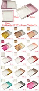 no logo lash box with tweezer mirror inside custom packaging box 25mm 3d 5d 6d real mink eyelashes packaging box set with logo