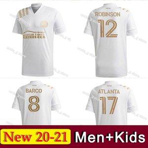 2020 2021 Atlanta United FC Soccer Jersey MLS MARTINEZ MEZA ROBINSON Uniforme Mens Hyndman G.MARTINEZ BARCO MEN + KIDS juventude Football Shir