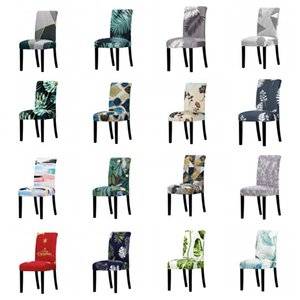 Elastic Chair Cover Universal Size Big Christmas Cheap Stretch Chair Cover Seat Slipcovers For Dining Room Hotel Banquet Home BWC1599