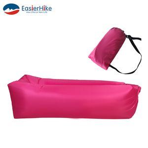 1 STÜCKE Sleeping Bag Air Sofa Aufblasbare Recliner Oxford Tuch Material Kann 200kg Schwerkraft bequem Lagerhaltung standhalten