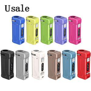 11 couleurs Yocan UNI Pro Box Mod 650mAh 10s Préchauffez VV variable Volta réglable en hauteur et diamètre Holder Fit Tous Atomiseur 100% Original