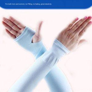 Ice рукав защита от солнца артефакта женских мужской руки на открытом воздухе защиты перчатки UV Bicycle лед рукава велосипедных перчаток
