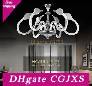 Led Swan Pendente LED de iluminação Luzes China Para Sala Lighting Chandelier criativa Decoração Hanging Luz