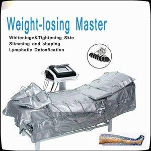 Máquina de massagem 3 em 1 Far Infrared Pressoterapia Pressão Profissional Spa Air Pressure Leg Massager Drenagem Linfática Air