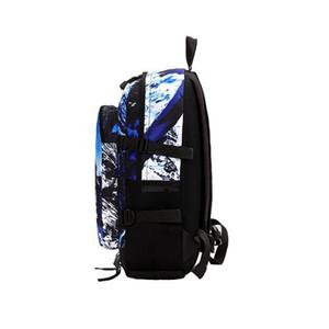 Designer-Masculino e Feminino Pattern Snow Mountain mochila de viagem ao ar livre resistente ao desgaste Waterproof Bag Estudante Lazer Bag Novo Estilo Atacado