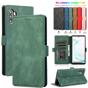 Leather Flip Wallet Case For Samsung Galaxy S20 Ultra S10 E S9 S8 S7 Edge Note 8 9 10 Plus 20 Ultra Lite A81 A91 Phone Cover Designer Bags