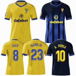 2019 2020 2021 كاديز لكرة القدم الفانيلة CF المنزل بعيدا 20/21 الرجال والاطفال قميص الأولاد كرة القدم S-2XL